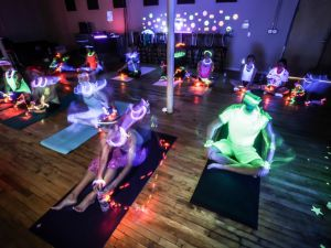 Glowga A New Yoga Trend
