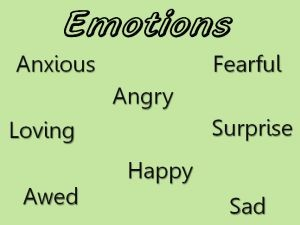 Emotion In Inside Out