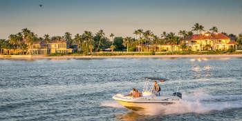 Coastline speedboat