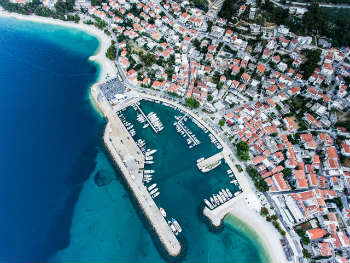 Croatia aerial view